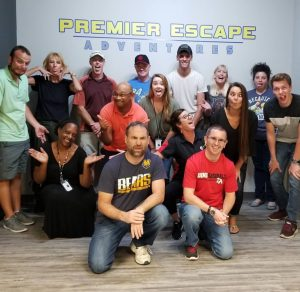 Corporate Team Building At Premier Escape Adventures in Brandenton Florida