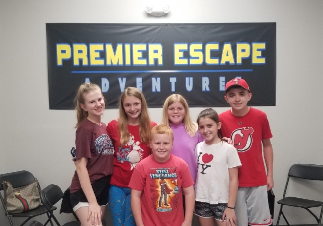 Birthday Party at Premier Escape Adventures in Bradenton Florida