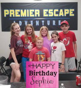 Birthday Party at Premier Escape Adventures in Bradenton Florida